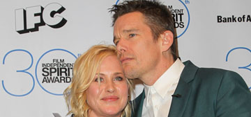 Star: Patricia Arquette & Ethan Hawke fought before Oscars, were removed