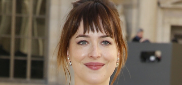 Dakota Johnson in black at Dior's PFW show: budget or beautiful?