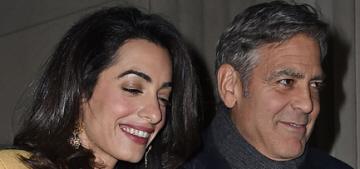 Amal Clooney's Giambattista Valli date-night style: fabulous or try-hard?