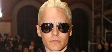 Jared Leto bares his shaved eyebrows in Paris: cool or try hard?
