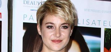 Shailene Woodley: returning to 'Divergent' was hard after my 'evolution'