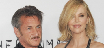 Sean Penn & Charlize Theron watch 'The Bachelor', he likes all the crying