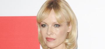 Pamela Anderson got a restraining order against her crazy ex, Rick Salomon