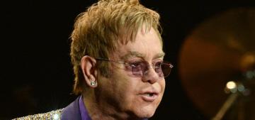 Elton John slams Dolce & Gabbana for their 'synthetic children' comments