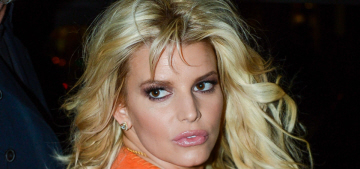 Jessica Simpson's orange-fringed & denim street style: budget or cute?