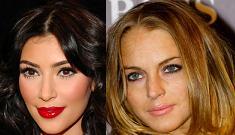Kim Kardashian defends Lindsay Lohan's window breaking temper