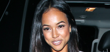 Karrueche Tran kicked out OWN's cameras after feeling 'judged' about Breezy