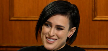 Rumer Willis will finish her album 'when my schedule permits after I win the trophy'
