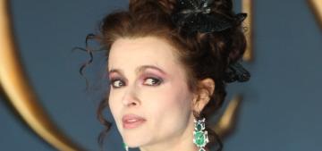Helena Bonham Carter in green Vivienne Westwood: stunning & perfect?