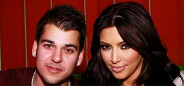 Rob Kardashian's family isn't worried: he's 'depressed & a bit off' lately