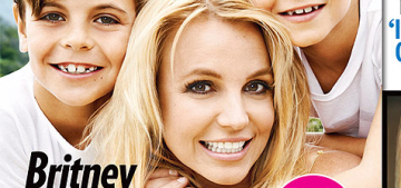 Britney Spears & her sons cover People Mag: 'My kids come first in my life'