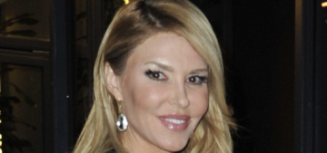 Brandi Glanville has added 'my children's stepmom' to her flight prayers