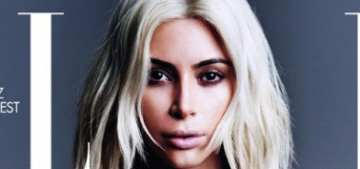 Kim Kardashian covers Elle France as a blonde: budget or hot?