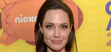 Angelina Jolie brought Shiloh & Zahara to the Kids' Choice Awards: so cute?