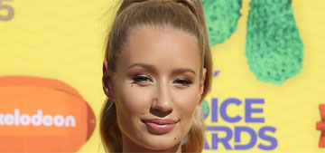 Iggy Azalea in Temperly London at Kid's Choice Awards: on point or too fancy?