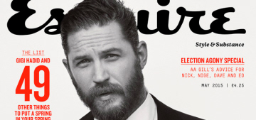 Tom Hardy: 'I have a reputation for being difficult. And I am.'