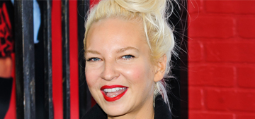 Sia: my wig saves me $5,000 every time I want to go to a party