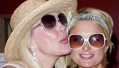 Paris Hilton meets her boyfriend's mother – who's just as trashy as Paris
