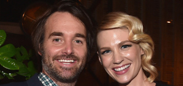 January Jones & Will Forte, costars, have started dating: cute couple?
