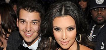 Kim Kardashian: 'We all lick Rob's a**. We make his life easy. This is pathetic'
