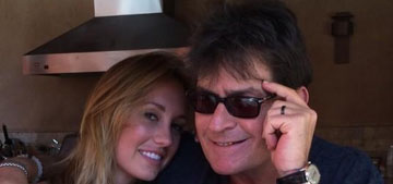 Charlie Sheen allegedly abused ex fiance, photos surface of her bruised neck