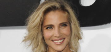 Elsa Pataky goes solo in Elie Saab at the 'Furious 7′ premiere: cute or try-hard?