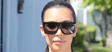 Kim Kardashian claims she'll need a hysterectomy if she gets pregnant again