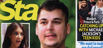 Rob Kardashian's crisis covers Star, Kim 'doesn't care if he lives or dies'