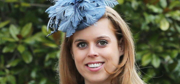 Princess Beatrice & assorted royals join the Queen for Easter church service