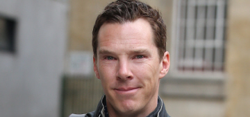 Benedict Cumberbatch was nominated for his third BAFTA TV Award: yay?