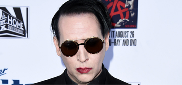 Marilyn Manson got 'sucker punched' in the face at a Denny's in Canada