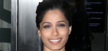Freida Pinto: Indian girls 'don't realize the beauty of their tan skin tone'