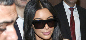 Kim & Khloe Kardashian were literally greeted like royalty in Armenia