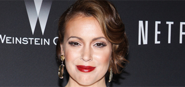 Alyssa Milano calls out Heathrow airport for confiscating her breast milk