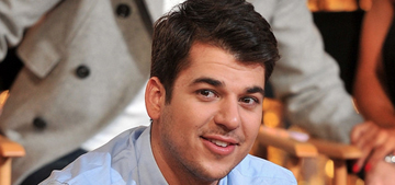 In Touch: Rob Kardashian 'is hooked on crystal meth. He's a drug addict'