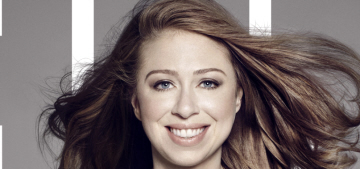 Chelsea Clinton covers ELLE: 'Who sits at the head of the table matters too'