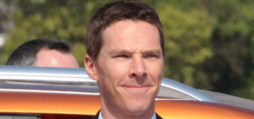 Benedict Cumberbatch at the big MG event in Shanghai: hot or meh?