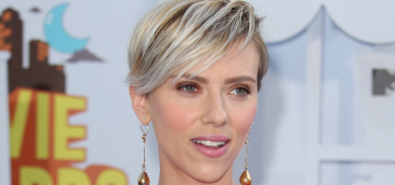 Scarlett Johansson refuses to make 'grandiose statements' about motherhood