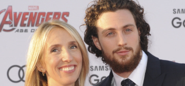Aaron & Sam Taylor Johnson at the 'Ultron' premiere: adorable or meh?
