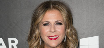 Rita Wilson has double mastectomy & reconstructive surgery for breast cancer