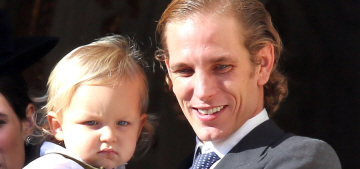 Andrea Casiraghi & Tatiana welcomed their second child, a baby girl