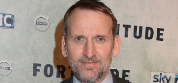 Christopher Eccleston has an issue with posh, white blokes taking all the roles