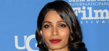 Freida Pinto isn't 'beautiful': 'I don't even like to look at myself in the mirror'