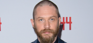 Tom Hardy shows off his buzzcut at the 'Child 44′ premiere: love it or hate it?