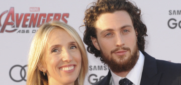 Aaron Taylor Johnson, 24: 'People who know me call me Benjamin Button'