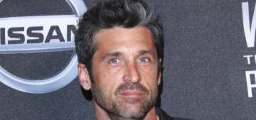 Patrick Dempsey 'has been acting like a diva' on the set of 'Grey's Anatomy'