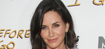 Courteney Cox looks less Botoxy, gets support from BFF Jennifer Aniston