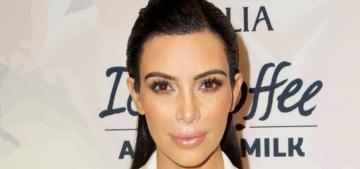 Kim Kardashian wears Narciso Rodriguez, discusses Bruce Jenner's transition