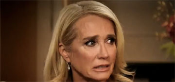 Kim Richards enters rehab, but is 'in denial that she has a problem'
