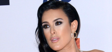 Rumer Willis steps out for two weekend events: doesn't she look great?